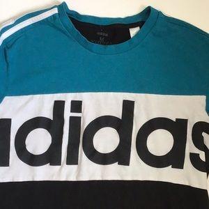 Adidas Colour Block Tshirt